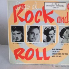 Discos de vinilo: LLEGÓ EL ROCK AND ROLL - EP, ELVIS PRESLEY+3 - RCA 3-20153 / 1956 - FASCIMIL 1987. Lote 51974319