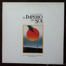 Discos de vinilo: BSO, EL IMPERIO DEL SOL (WEA) LP ESPAÑA, JOHN WILLIAMS, STEVEN SPIELBERG. Lote 51998927