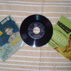 Discos de vinilo: LOTE DE TRES DISCOS DE JOSELITO SINGLE PEQUEÑO CORONEL, EP SAETA Y EP PROMOCIONAL EL PEQUEÑO RUISE. Lote 62578678