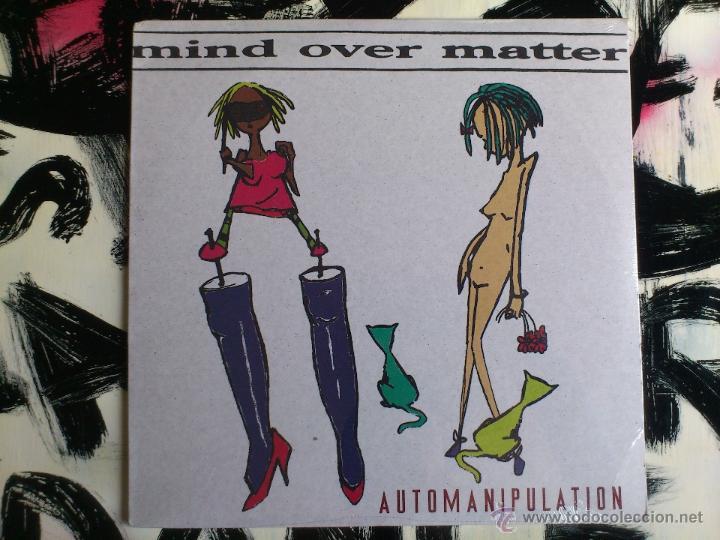 MIND OVER MATTER - AUTOMANIPULATION - LP - VINILO - WRECK AGE - USA - 1995 (Música - Discos - LP Vinilo - Pop - Rock Internacional de los 90 a la actualidad)