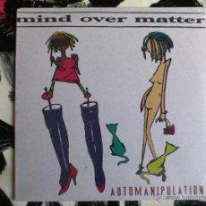Discos de vinilo: MIND OVER MATTER - AUTOMANIPULATION - LP - VINILO - WRECK AGE - USA - 1995. Lote 52000602