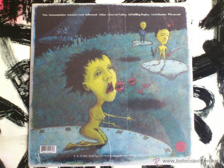 Discos de vinilo: MIND OVER MATTER - AUTOMANIPULATION - LP - VINILO - WRECK AGE - USA - 1995 - Foto 2 - 52000602