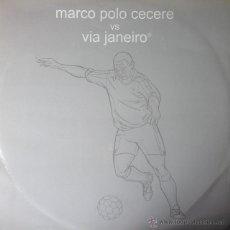 Discos de vinilo: MARCO POLO CECERE VS. VIA JANEIRO - CARLINHA / SEXY SITAR . MAXI SINGLE . 2003 ITALY. Lote 52001099