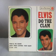 Discos de vinilo: ELVIS PRESLEY - DO THE CLAM- EP- RCA 3-20886 / 1965 - FASCIMIL 1987 . Lote 51998259