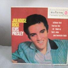 Discos de vinilo: ELVIS PRESLEY - JAILHOUSE ROCK- EP- RCA 3-20448 / 1962 - FASCIMIL 1987. Lote 51997501