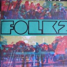 Discos de vinilo: LP - FOLK 2 - VARIOS (VER FOTO) (SPAIN, TIC RECORDS 1968, CONTIENE LIBRETO). Lote 52003113