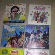 Discos de vinilo: 6 SINGLES ,LA FAMILIA,HORACIO PINCHADISCOS,2 DE PARCHIS,NINS Y REGALIZ.DISCOS PROMOCION. Lote 91889453