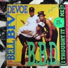 Discos de vinilo: BELL BIV DEVOE - B.B.D. - I THOUGHT IT WAS ME? - MAXI - VINILO - MCA - 1999. Lote 52005457