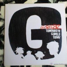 Discos de vinilo: GORILLAZ - TOMORROW COMES TODAY - MAXI - VINILO - EMI - 2002. Lote 52005563