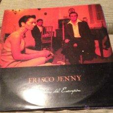 Discos de vinilo: FRISCO JENNY - EL DOLOR DEL ESCORPION LP MIKEL ERENTXUN. Lote 52007419