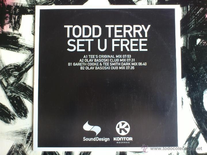 TODD TERRY - SET U FREE - SOUND DESIGN - MAXI - VINILO - KONTOR - 2002 (Música - Discos de Vinilo - Maxi Singles - Techno, Trance y House)