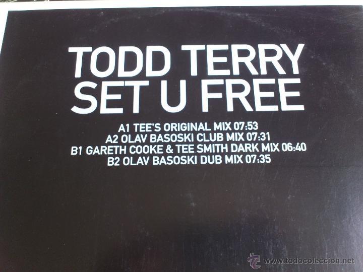 Discos de vinilo: TODD TERRY - SET U FREE - SOUND DESIGN - MAXI - VINILO - KONTOR - 2002 - Foto 3 - 52007437