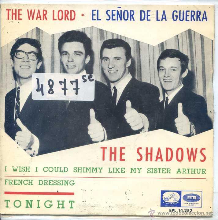 THE SHADOWS / EL SEÑOR DE LA GUERRA / TONIGHT + 2 (EP 1966) (Música - Discos de Vinilo - EPs - Pop - Rock Internacional de los 50 y 60)