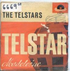 Discos de vinilo: THE TELSTARS / TELSTAR / MADELEINE + 2 (EP 1963). Lote 52022114
