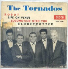 Discos de vinilo: THE TORNADOS / ROBOT / LIFE ON VENUS + 2 (EP 1963). Lote 52022405