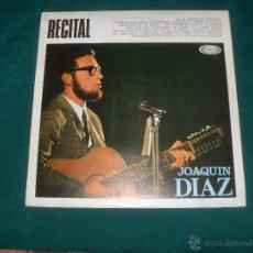 Discos de vinilo: RECITAL JOAQUIN DIAZ. MOVIEPLAY 1968. Lote 52024978