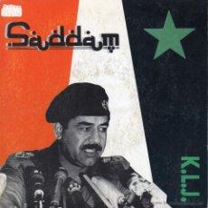 Discos de vinilo: K. L. J., SG, SADDAM (SPANISH RADIO VERSION) + 1, AÑO 1990 PROMO. Lote 52028890