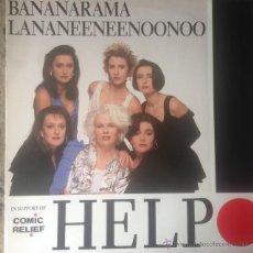 Discos de vinilo: BANANARAMA, LANANEENEENOONOO - HELP . MAXI SINGLE . 1989 GERMANY. Lote 52033149
