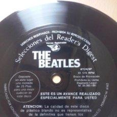 Discos de vinilo: THE BEATLES- FLEXI READER'S DIGEST 1981 PROMOCIONAL. Lote 52053340