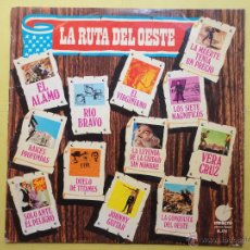 Discos de vinilo: LA RUTA DEL OESTE. LAMUERTE TENÍA UN PRECIO. Lote 52105933