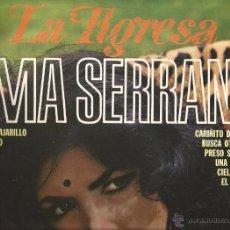Discos de vinilo: LP IRMA SERRANO : LA TIGRESA . Lote 52120516