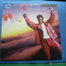 Discos de vinilo: CLARENCE LEMONS HERO LP CBS 1985 CON ENCARTES ( SAXOFONISTA DEL GRUPO DE BRUCE SPRINGSTEEN ). Lote 52120617