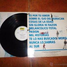 Discos de vinilo: MODESTIA APARTE COSAS DE LA EDAD LP VINILO FIRMADO POR TODOS LOS COMPONENTES 10 TEMAS PORTU RARO. Lote 52121151