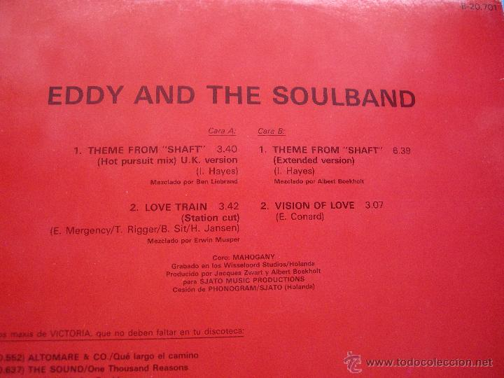 MAXI-Eddy & The Soulband – Theme From Shaft (DISCO-FUNK)