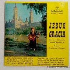 Discos de vinilo: DISCO 7PULGADAS - JESÚS GRACIA - JOTAS ARAGONESAS. Lote 52123865