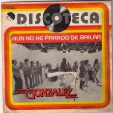 Discos de vinilo: GONZALEZ. DISCOTECA. AÚN NO HE PARADO DE BAILAR. EMI ODEON. 1979.. Lote 52125021