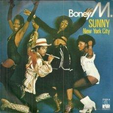 Discos de vinilo: BONEY M SINGLE SELLO ARIOLA AÑO 1977 EDITADO EN ESPAÑA. Lote 52125100