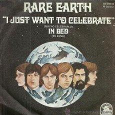 Discos de vinilo - RARE EARTH SINGLE SELLO RARE EARTH AÑO 1971 EDITADO EN ESPAÑA PROMOCIONAL - 52125169