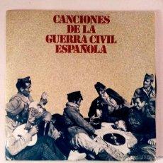 Discos de vinilo: DISCO 7PULGADAS - CANCIONES DE LA GUERRA CIVIL ESPAÑOLA. Lote 52125432