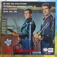 Discos de vinilo: DUO DINAMICO - EN UNA ISLA MARAVILLOSA + 3 CANCIONES // EP // 1965. Lote 52125479