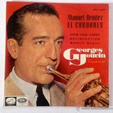 Discos de vinilo: DISCO 7PULGADAS - GEORGES JOUVIN, TROMPETA DE ORO - MANUEL BENÍTEZ EL CORDOBÉS.... Lote 52125703