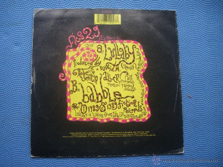 Discos de vinilo: THE CURE LULLABY ( REMIX ) / BABBLE SINGLE SPAIN 1989 PDELUXE - Foto 2 - 52128777