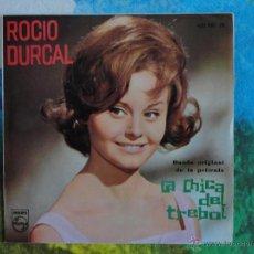 Discos de vinilo: ROCIO DURCAL - B.S.O. LA CHICA DEL TREBOL // EP 4 CANCIONES // 1963 // A ESTRENAR. Lote 52130565