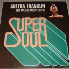 Discos de vinilo: ARETHA FRANKLIN - SUS MAS GRANDES EXITOS. Lote 52132753