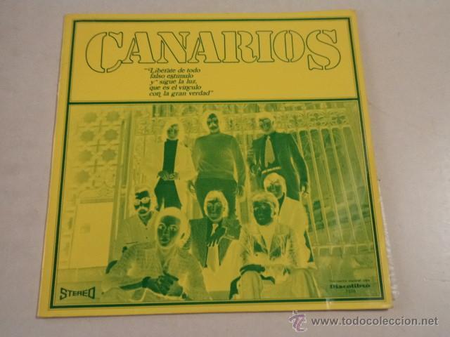 CANARIOS - LIBÉRATE - LP EDICIÓN ESPECIAL PARA DISCOLIBRO (Música - Discos - LP Vinilo - Grupos Españoles 50 y 60)