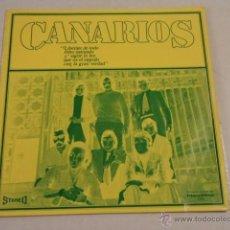 Discos de vinilo: CANARIOS - LIBÉRATE - LP EDICIÓN ESPECIAL PARA DISCOLIBRO. Lote 52136416