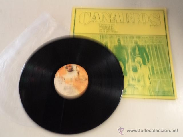 Discos de vinilo: CANARIOS - LIBÉRATE - LP EDICIÓN ESPECIAL PARA DISCOLIBRO - Foto 3 - 52136416