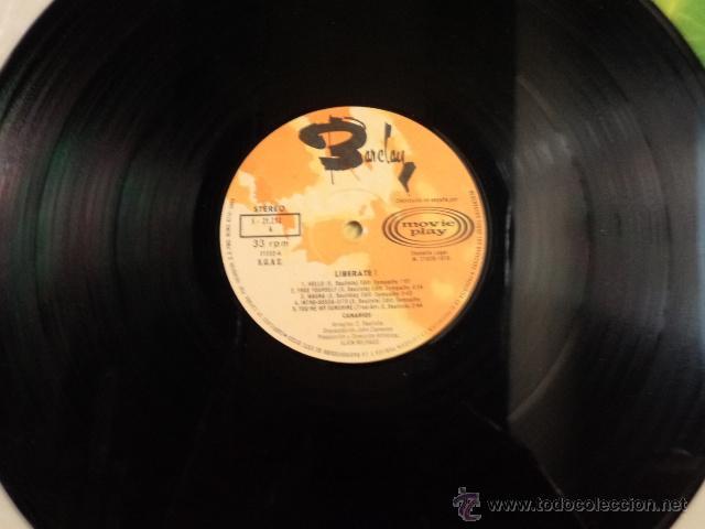 Discos de vinilo: CANARIOS - LIBÉRATE - LP EDICIÓN ESPECIAL PARA DISCOLIBRO - Foto 4 - 52136416