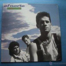 Discos de vinilo: LP - EL NORTE - EL MUNDO ESTA LOCO - ORIGINAL ESPAÑOL, CBS 1990 CON ENCARTE PEPETO. Lote 52136811