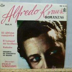 Discos de vinilo: ALFREDO KLAUS -ROMANZAS-VOL.4. Lote 52137562