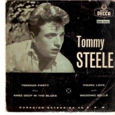 Discos de vinilo: EP TOMMY STEELE EDITADO EN ESPAÑA DISCOS DECCA . Lote 52137641