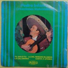 Discos de vinilo: PEDRO INFANTE CREACIONES INOLVIDABLES.. Lote 52138200