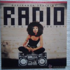 Discos de vinilo: ESPERANZA SPALDING - '' RADIO MUSIC SOCIETY '' 2 LP 180GR LIMITED EDITION USA 2012. Lote 52138948