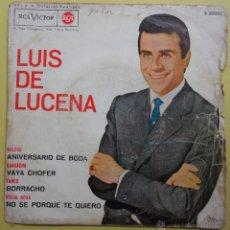Discos de vinilo: LUIS LUCENA. ANIVERSARIO DE BODA. Lote 52139288