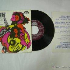 Discos de vinilo: EP JUNE - ALGO DE LOS DOS .. + DIPTICO CON LETRAS - BERTA 1975. Lote 52140687