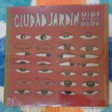 Discos de vinilo: CIUDAD JARDIN (OJOS MAS QUE OJOS) LP 1992 MOVIDA MADRILEÑA * PRECINTADO. Lote 56152973